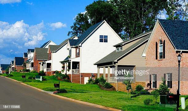 affluent neighborhood - organized group stock pictures, royalty-free photos & images