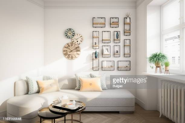 affordable home interior - small stock pictures, royalty-free photos & images