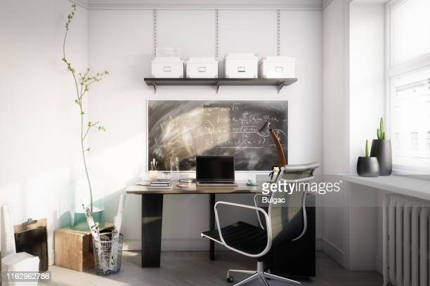 affordable home office - small stock pictures, royalty-free photos & images