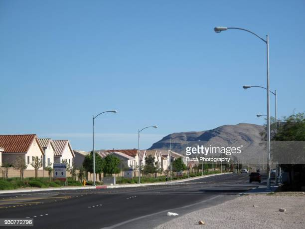 Affordable single-family houses developments near Las Vegas, Nevada