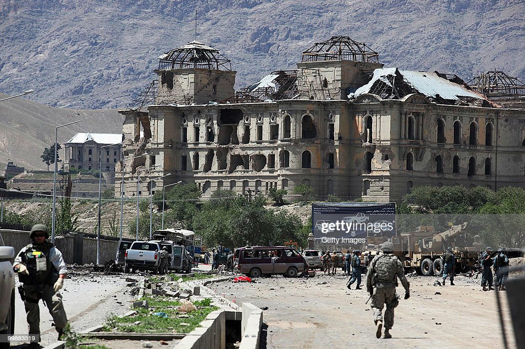 Suicide Car Bomb Attack in Kabul : News Photo
