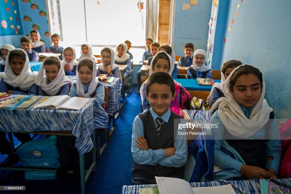 Social Change In Afghanistan, From Education To Women's Rights : News Photo