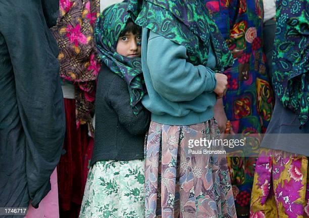 Afghan Childen Eat At Orphanage