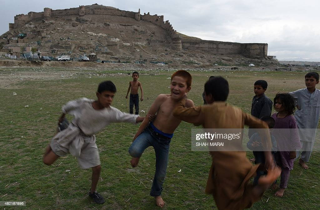 AFGHANISTAN-SOCIETY-PLAY : News Photo