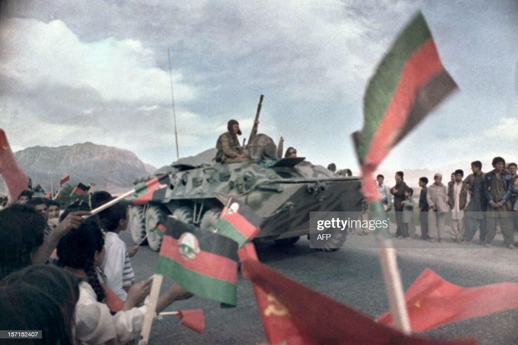 RETRO-AFGHANISTAN-SOVIET TROOPS WITHDRAWAL : Fotografía de noticias