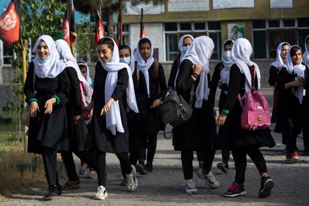 AFG: Afghan Girls Education : Kabul Girl's Schools Reopen After Coronavirus Break