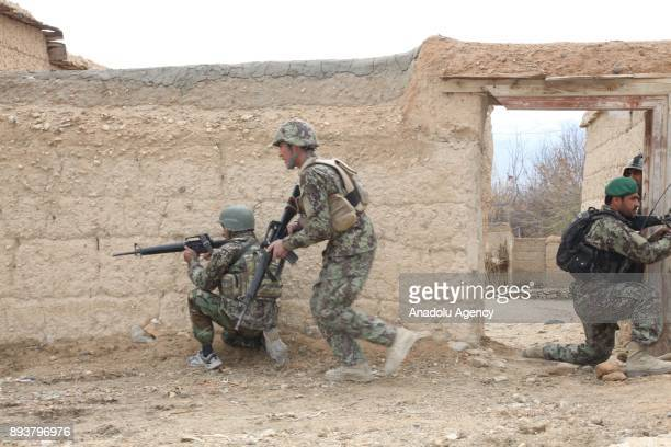 Afghan forces launch operation against Daesh in Nangarhar Province Afghanistan on December 14 2017 It's reported that 26 Daesh terrorists were killed...