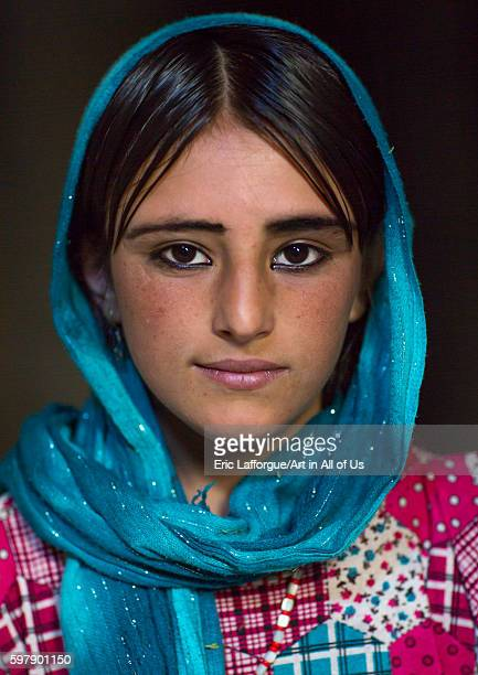Afghan fteenage girl with nice eyes badakhshan province khandood Afghanistan on August 14 2016 in Khandood Afghanistan