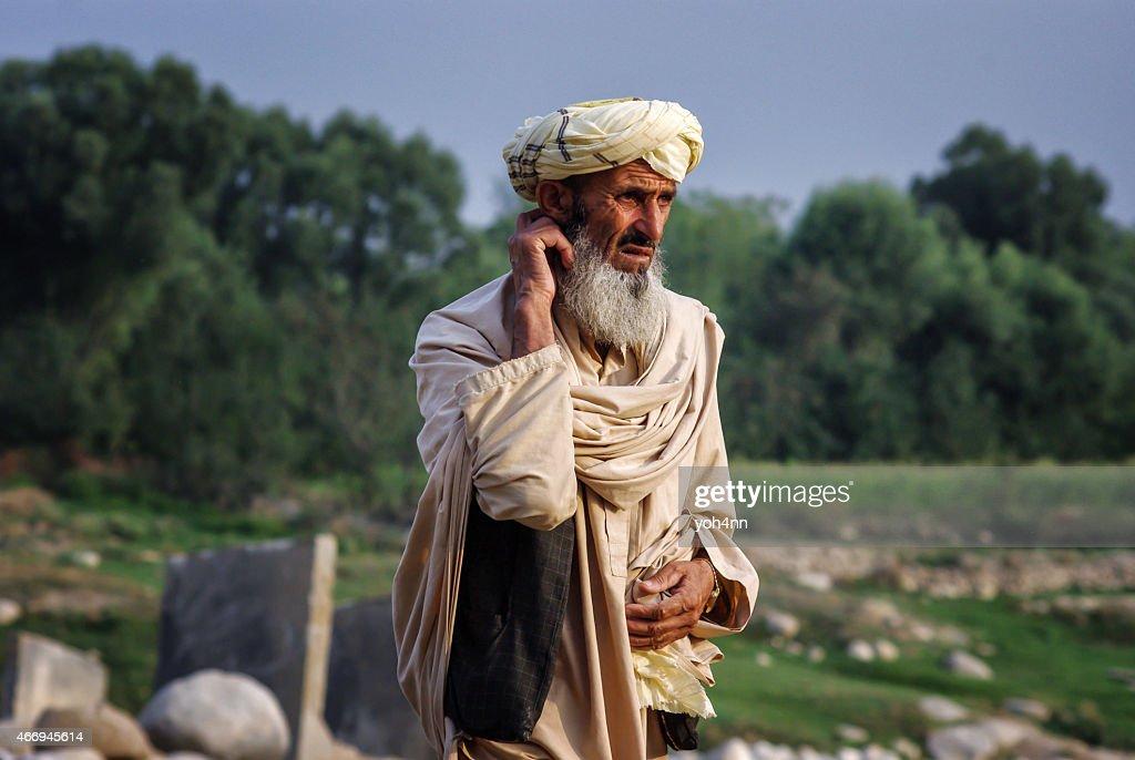 Afghan man : Stock Photo