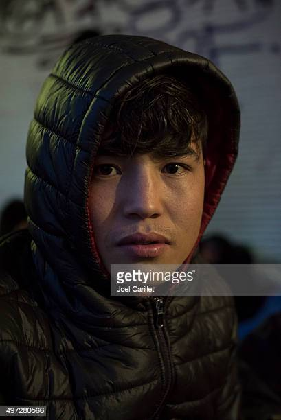 Afghan migrant traveling to Europe