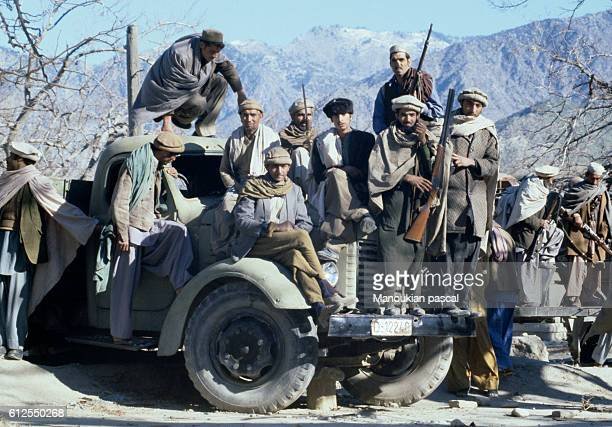 Afghan Mujahideen fought against the Soviet invasion of Afghanistan during the 1980s The invasion started in December 25 1979 | Location Asmar Kunar...