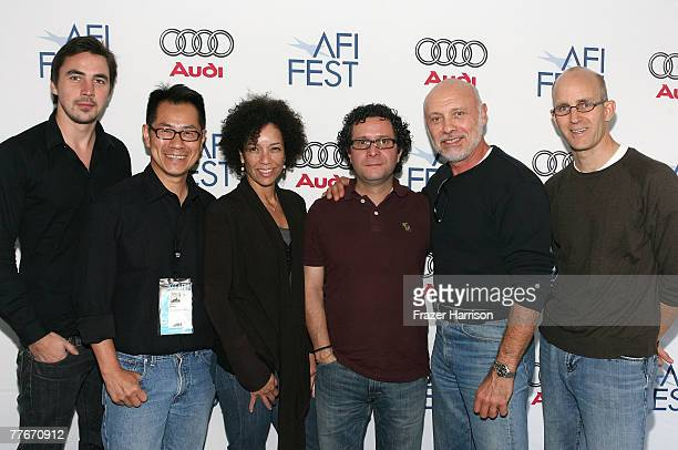 'Afghan Muscles' Director Andreas Dalsgaard 'Hollywood Chinese' writer/director Arthur Dong Homegrown Pictures producer Stephanie Allain 'Cyrano...