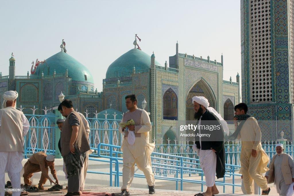 Eid al-Adha in Afghanistan : News Photo