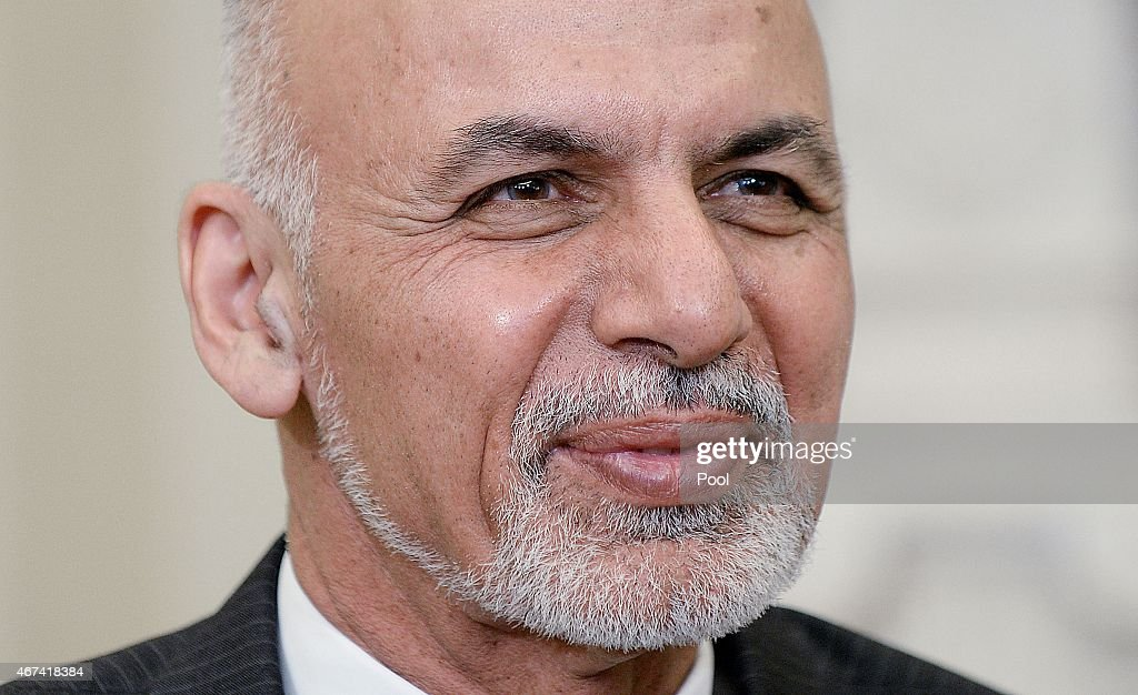 President Obama Meets With Afghan President Ghani In Oval Office