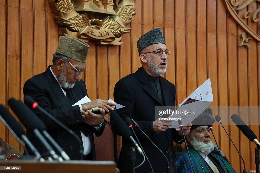 President Hamid Karzai Inaugurates New Parliament In Kabul