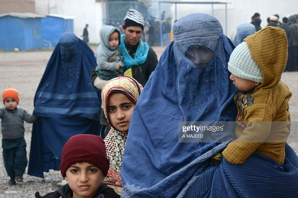 PAKISTAN-AFGHANISTAN-UNREST-REFUGEES : News Photo