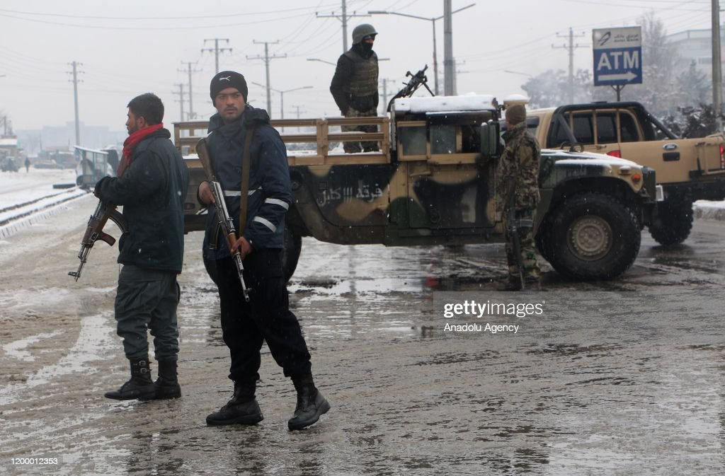 Afghanistan: At least 6 dead in Kabul suicide attack : ニュース写真