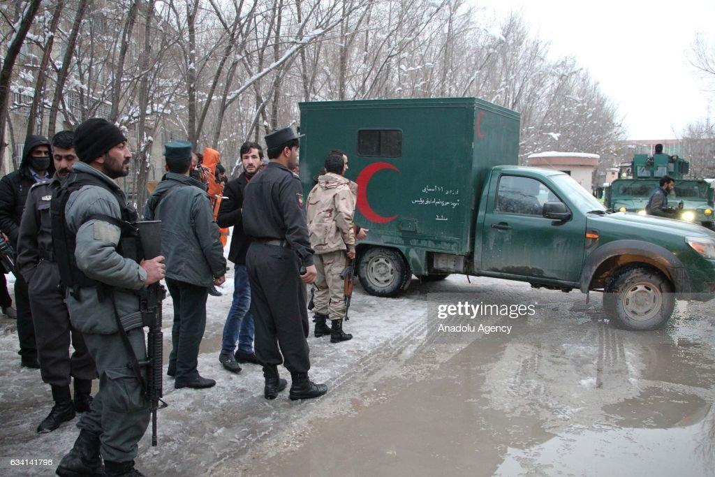 Blast in Kabul kills 20 outside Supreme Court : News Photo