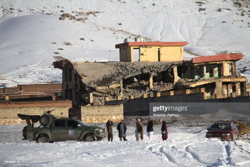 Deadly Taliban attack on military compound : News Photo