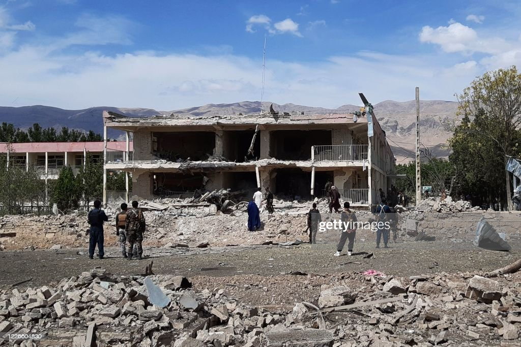 AFGHANISTAN-CONFLICT-ATTACK : News Photo