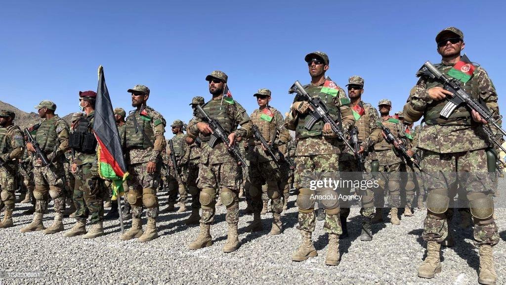 Afghan commando graduation ceremony in Kabul : News Photo