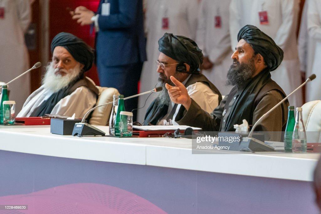 Historic intra-Afghan peace talks launch in Qatar : News Photo