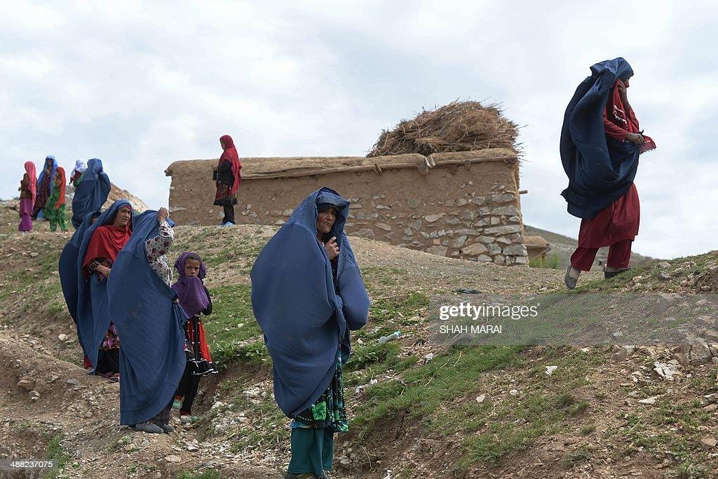 AFGHANISTAN-LANDSLIDE : News Photo