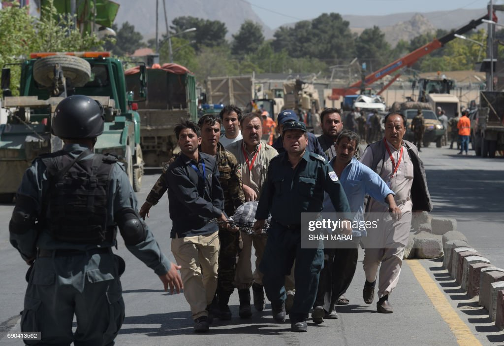 AFGHANISTAN-UNREST-ATTACK : News Photo