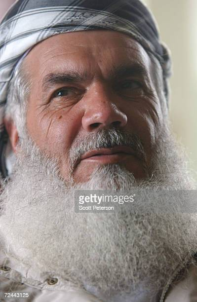 Afghan warlord Ismail Khan governor of western Herat Province backed by Iran and a legendary Mujahideen fighter against the Soviet occupation of the...