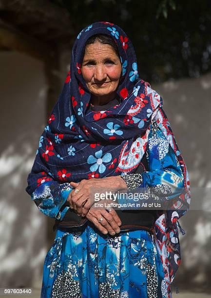 Afghan woman in her traditional pamiri house courtyard badakhshan province qazi deh Afghanistan on August 14 2016 in Qazi Deh Afghanistan