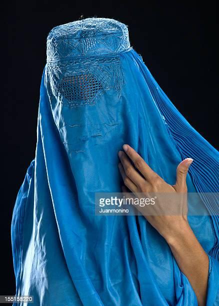 Afghanischen Frau mit Ihrem burkha