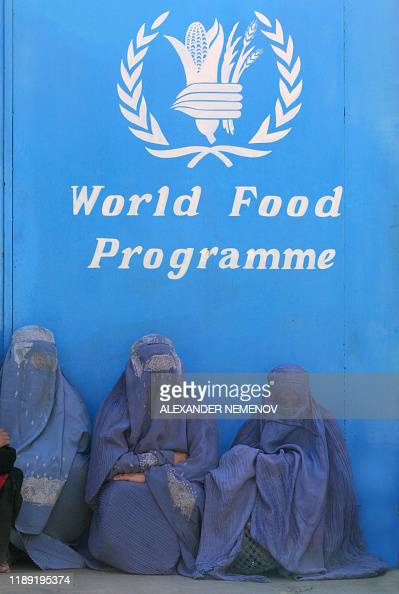 Afghan Women Sit In Front Of The World Food Programme Headquarters In News Photo Getty Images