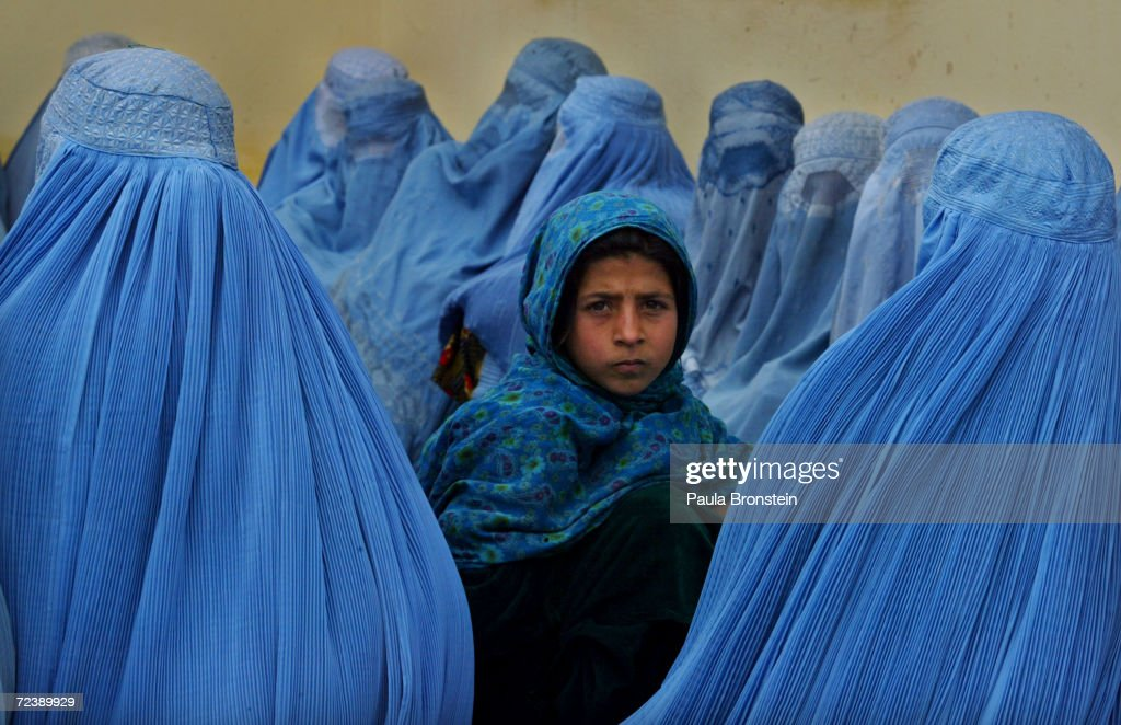 Afghan Women At Kalakan Health Clinic : News Photo