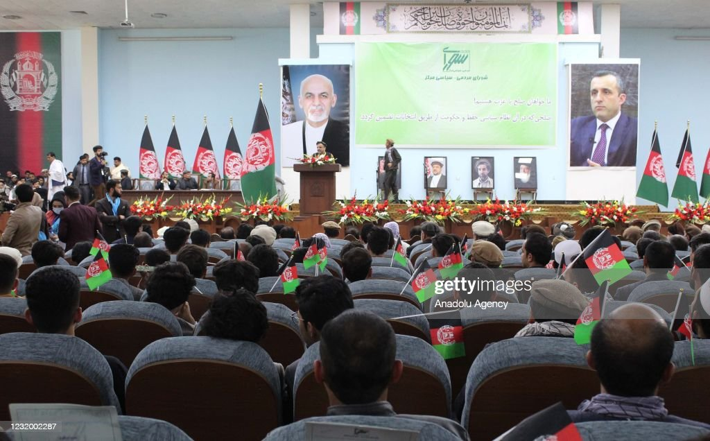 Afghani people demand peace in Afghanistan : News Photo