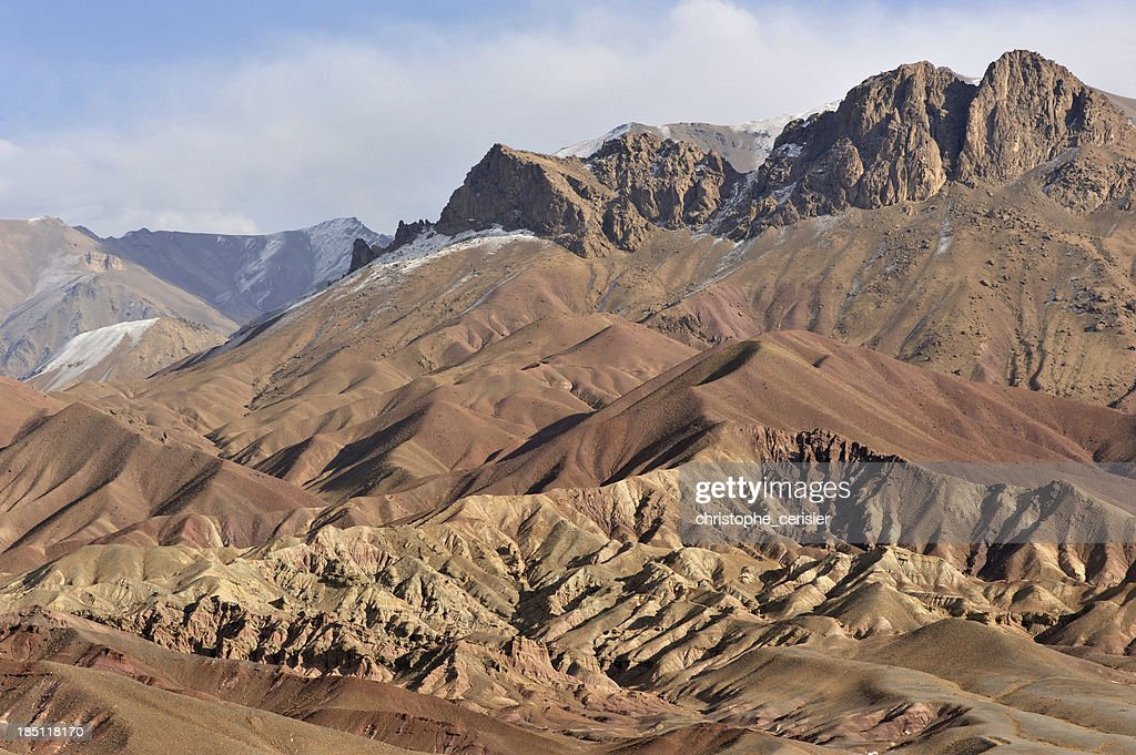 Afghanistan colourful mountains : Stock Photo