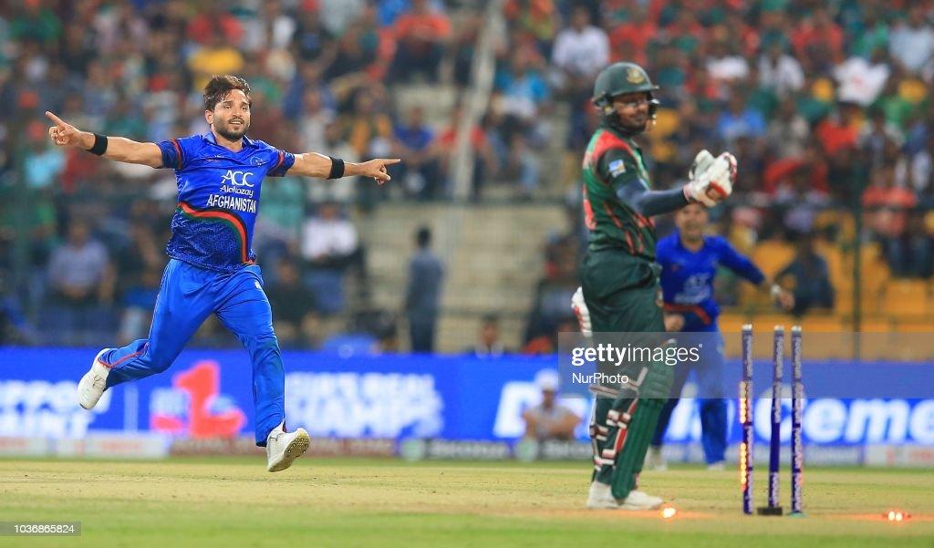 Afghanistan v Bangladesh - Asia Cup 2018 : News Photo