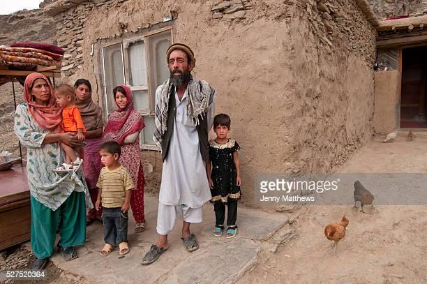 Afghanistan Kabul District 7 behind Technicom Father Mohammed Baba Khayoum mother Gulalai Arozo 15 Hanifa 14 Sher Lala 5 Saymay girl in black dress 6
