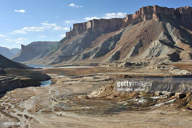 afghanistan landscape and canyons, bamyan province - afghanistan stock pictures, royalty-free photos & images