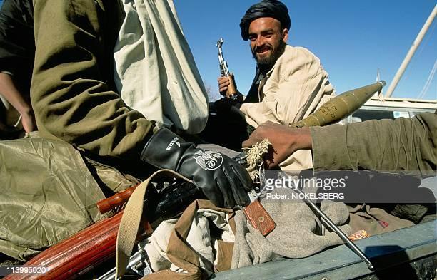 Afghanistan under Taleban rule In Kabul, Afghanistan In February, 1995-Taliban at Charasiab headquaters.