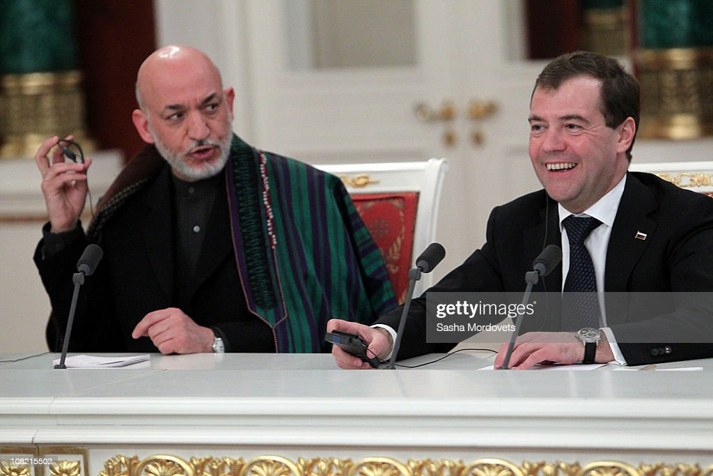 Afghanistan President Hamid Karzai State Visit To Russia