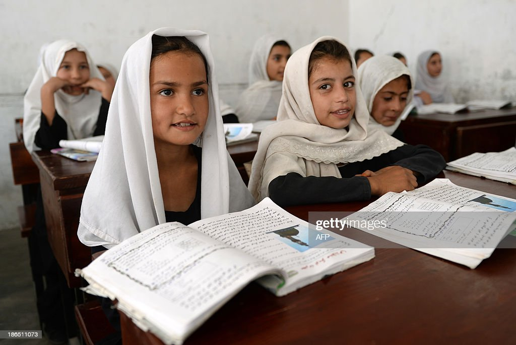 AFGHANISTAN-UNREST-EDUCATION-CHILDREN : News Photo