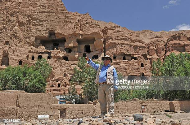 AfghanistanunresthistoryarchaeologyFEATURE by Joris Fioriti In this picture taken on July 21 Afghanborn French archaeologist Zemaryalai Tarzi points...