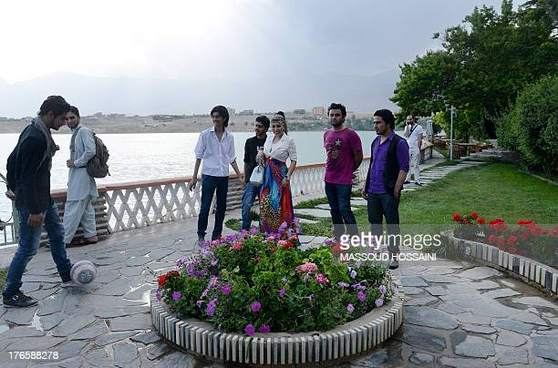 AfghanistanunrestwomencultureFEATURE by Edouard GUIHAIRE In this photograph taken on July 12 Afghan female singer Aryana Sayeed walks with...