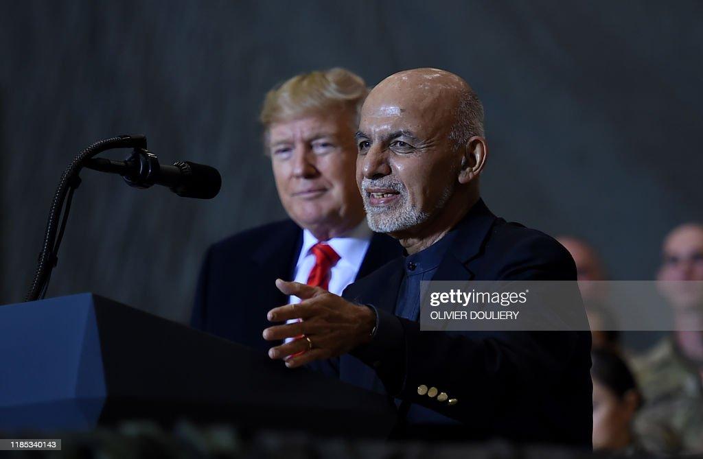Afghanistan-AFGHANISTAN-US-TRUMP-THANKSGIVING-POLITICS-UNREST : News Photo