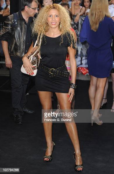Afida Turner arrives to attend the Paris Premiere for the ...