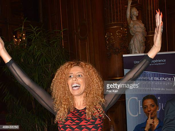 Afida Turner attends 'Les Sesames De L'Accessibilite Positive' Ceremony Dinner At the Hotel De Ville De Paris on November 4 2014 in Paris France