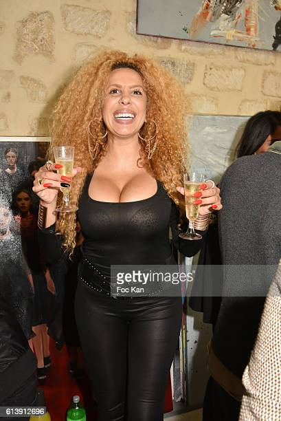 Afida Turner attends ÇÊRencontre Et PartageÊÈ Entre Specialistes du 7 eme Art Hosted by AK2A AGENCY at Galerie Art Generation on October 10 2016 in...