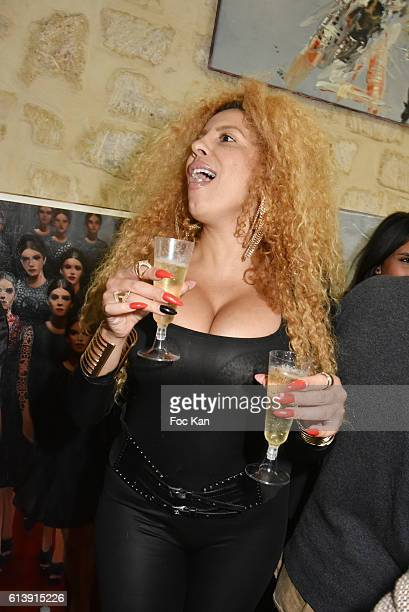 Afida Turner attends ÇÊRencontre Et PartageÊÈ Entre Specialistes du 7 eme Art Hosted by AK2A AGENCY at Galerie Art Generation on October 10, 2016 in...