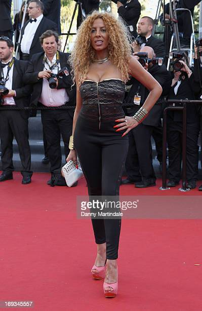 Afida Turner attends the Premiere of 'Nebraska' during the 66th Annual Cannes Film Festival at The Palais des Festivals on May 23 2013 in Cannes...