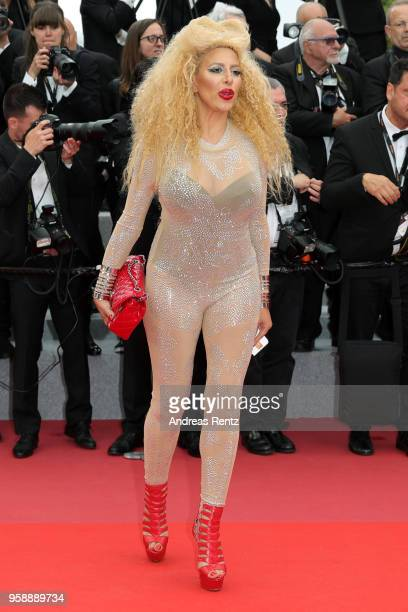 Afida Turner attends the screening of Solo A Star Wars Story during the 71st annual Cannes Film Festival at Palais des Festivals on May 15 2018 in...